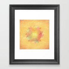 Dreams in bloom Framed Art Print