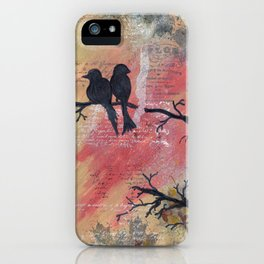 Together - Winter Birds iPhone Case