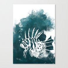 Feuerfisch Canvas Print
