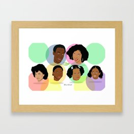 CR38 The Cosby Show Framed Art Print