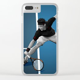 Kei Nishikori Clear iPhone Case