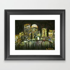 Boston Harbor Framed Art Print