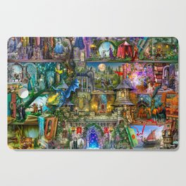 Once Upon a Fairytale Cutting Board