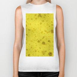 Yellow sponge Biker Tank