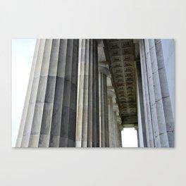 Lincoln Colonnade Canvas Print