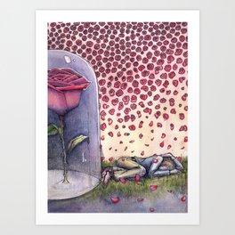 "Le Petit Prince ""Ephemeral"" Art Print"