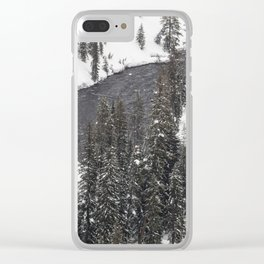 Yellowstone National Park - Lewis River 2 Clear iPhone Case