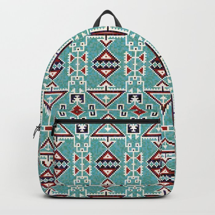 Native American Navajo pattern Backpack