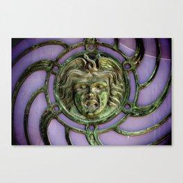 Asbury Park Carousel Medallion Canvas Print
