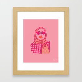 Raai Framed Art Print