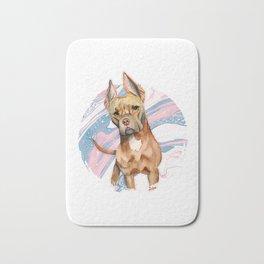 Bunny Ears Bath Mat