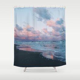 Morning Beach Shower Curtain