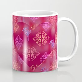 Love Day Heart Print Coffee Mug