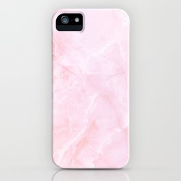 Sugar Pink Marble iPhone Case