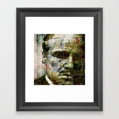 Marlon B. Framed Art Print