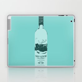Grey Goose Blue Pop Art Laptop & iPad Skin