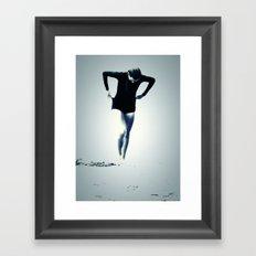 Woman Emerging Framed Art Print