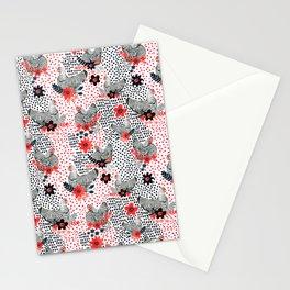 Wyandotte Chickens Stationery Cards