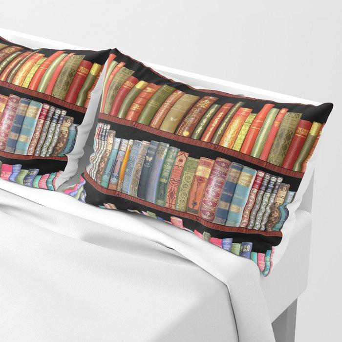 Vintage books ft Jane Austen & more Pillow Sham