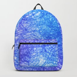 Minimalist Blue Watercolor Design Backpack