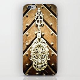 Brass Door Knocker iPhone Skin
