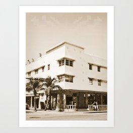 Collins Avenue, Miami Beach Art Print