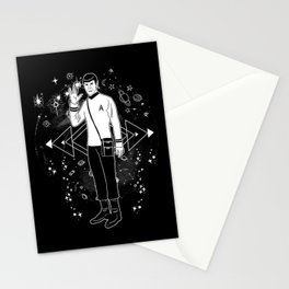 LLAP Vulcan in Space Stationery Cards