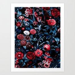 EXOTIC GARDEN - NIGHT X Art Print