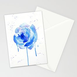 Something Blue Stationery Cards