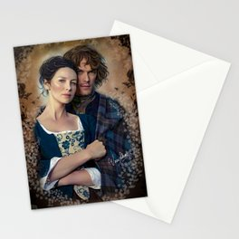 Claire and Jamie Stationery Cards