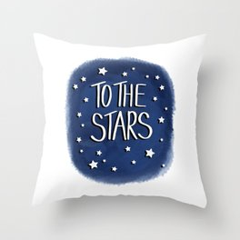 To The Stars Throw Pillow