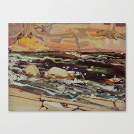 Tom Thomson Dark Waters spring 1916 Canadian Landscape Artist Canvas Print