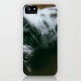 Cat by Joey Huang iPhone Case