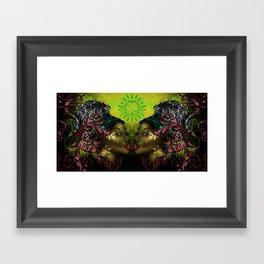 Ital Twins Framed Art Print