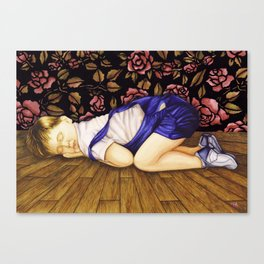 Child Sleeping #1 Canvas Print