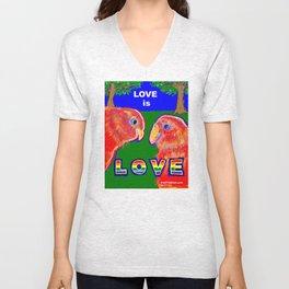 LOVE is LOVE Unisex V-Neck