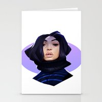 asian Stationery Cards featuring Asian by Max Grecke