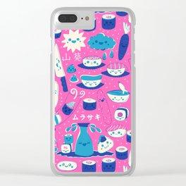 Sushi fun park Clear iPhone Case