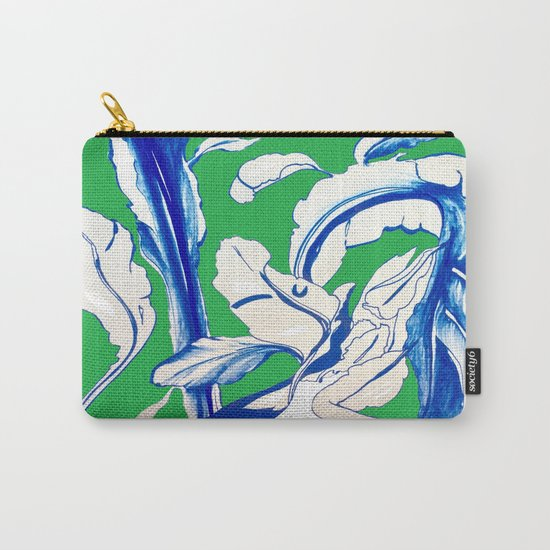 Saint Patrick's Day Succulent Carry-All Pouch