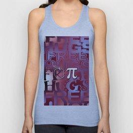 Apple Pie - Free Hugs and Kisses Unisex Tank Top