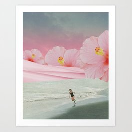 Running Dream Art Print