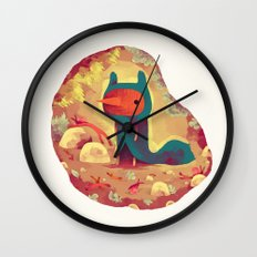le frisé Wall Clock