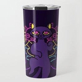 Cats have nine lives Travel Mug