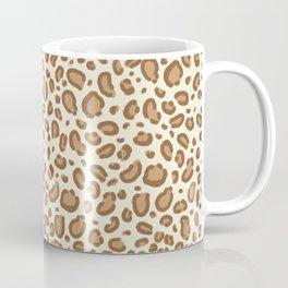 Leopard spots animal pattern print minimal basic home decor safari animals Coffee Mug