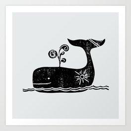 Sunny Sailing Art Print