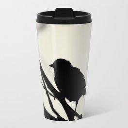 Silhouetted Bird Travel Mug