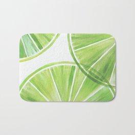 Fresh Lime ~ Summer Citrus Bath Mat