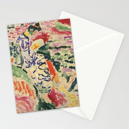 La Japonaise Woman beside the Water by Henri Matisse Stationery Cards