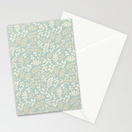 Seamless pattern on leaves theme, Autumn seamless pattern  Stationery Cards