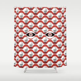 The Red Handmaid Collection by ©2018 Balbusso Twins Shower Curtain